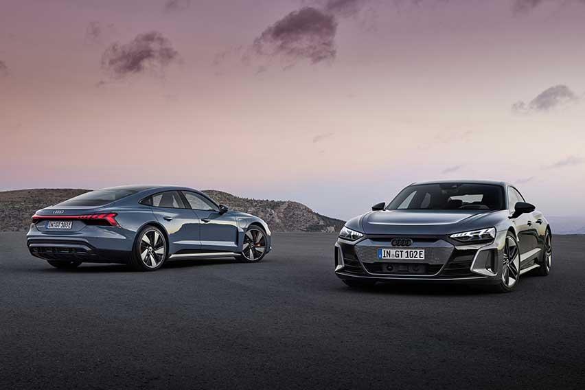 Audi e-tron GT Mendebut dengan Performa di Bawah Bayangan Porsche Taycan