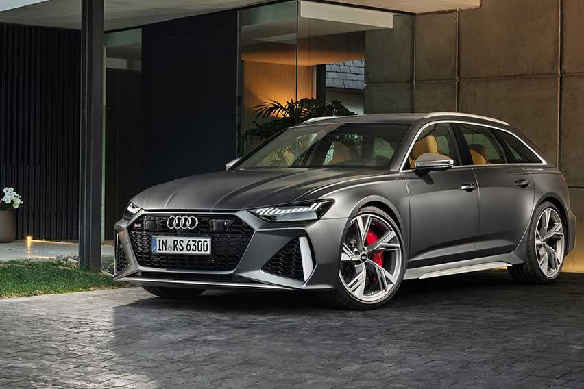 Audi RS 6 Avant: Functionality coupled with supercar performance