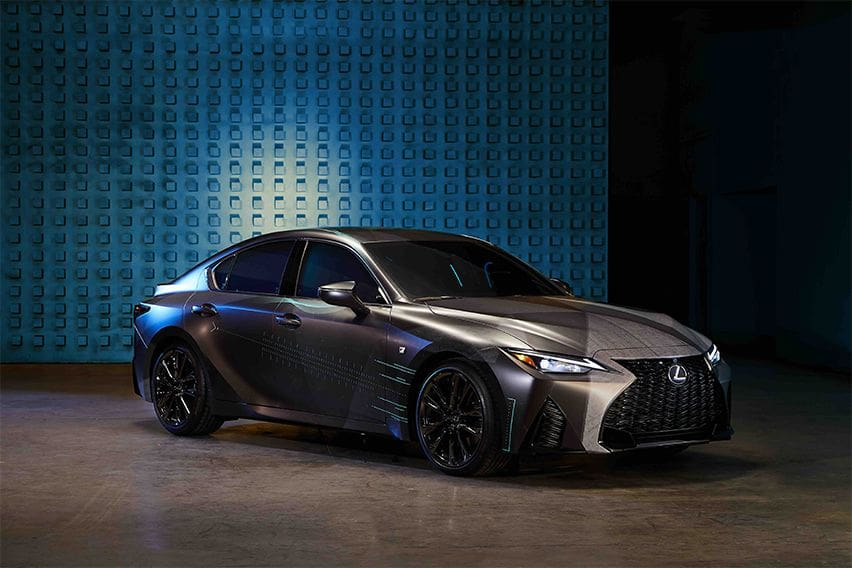 The Lexus Gamers' IS will make gaming geeks drool