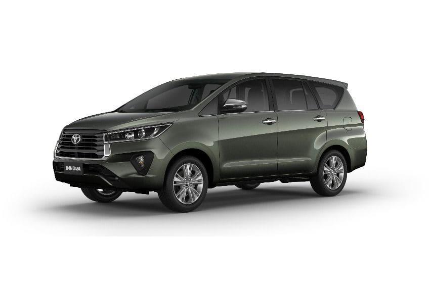 A spec check of all the 2021 Toyota Innova variants