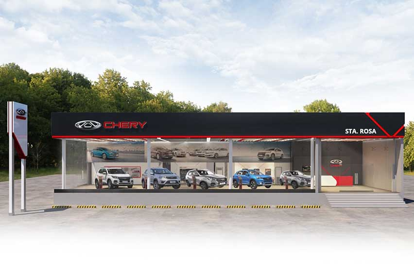 Chery PH opens new dealership in Sta. Rosa