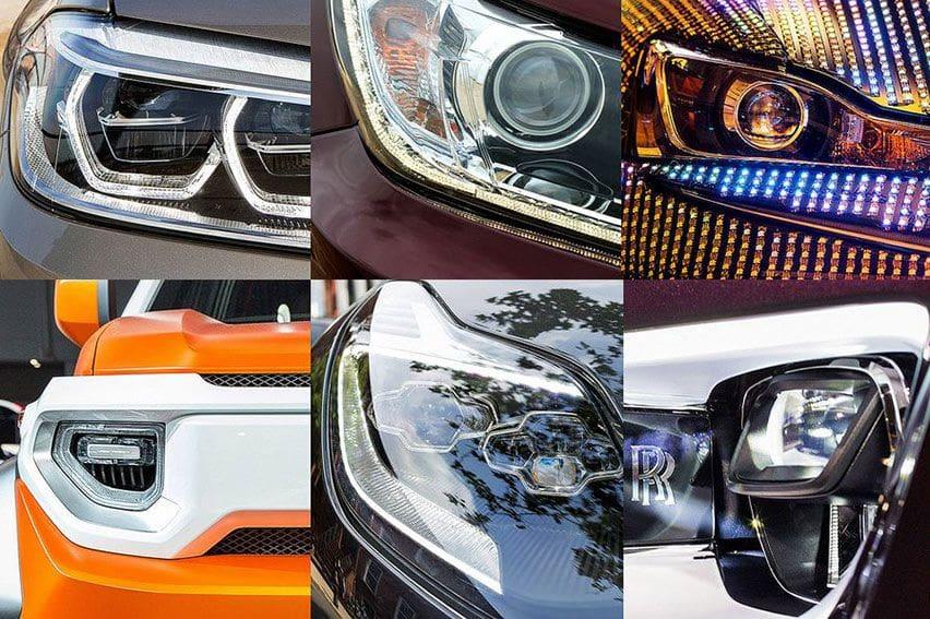 Evolusi Lampu Depan Mobil