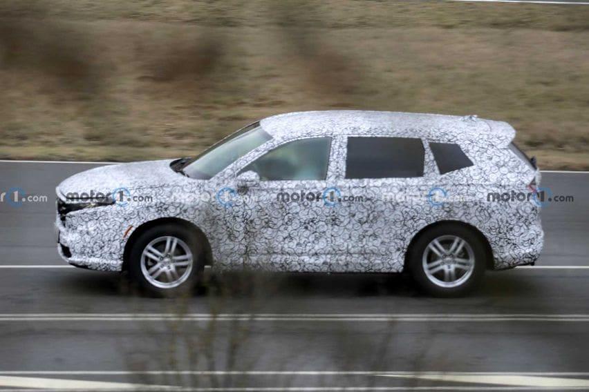 Tertangkap Basah, Inikah Wujud Generasi Keenam Honda CR-V?