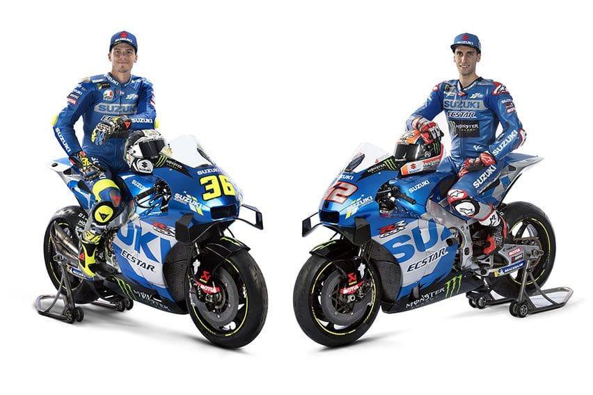 MotoGP 2021: Tampil dengan Mesin dan Livery Baru, Team Suzuki Ecstar Pede Juara Lagi