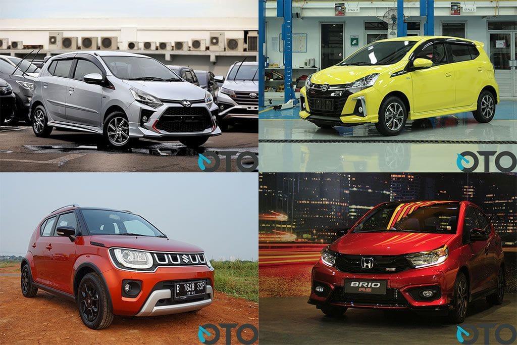 Rekomendasi City Car di Bawah Rp 200 juta, Mana yang Paling Sesuai Kebutuhan?