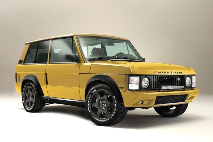 Chieftain Xtreme, Begini Jadinya Kalau Range Rover Classic jadi SUV Super