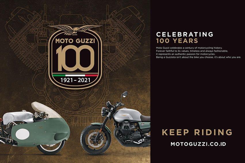 100 Tahun Moto Guzzi, Mimpi dan Kerja Keras dari Mandello