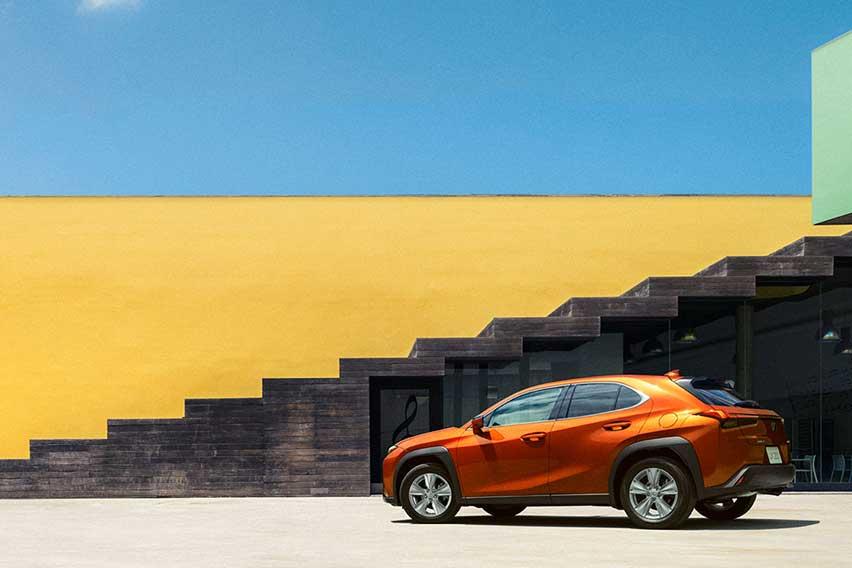 The Lexus UX: Built for the urban explorer