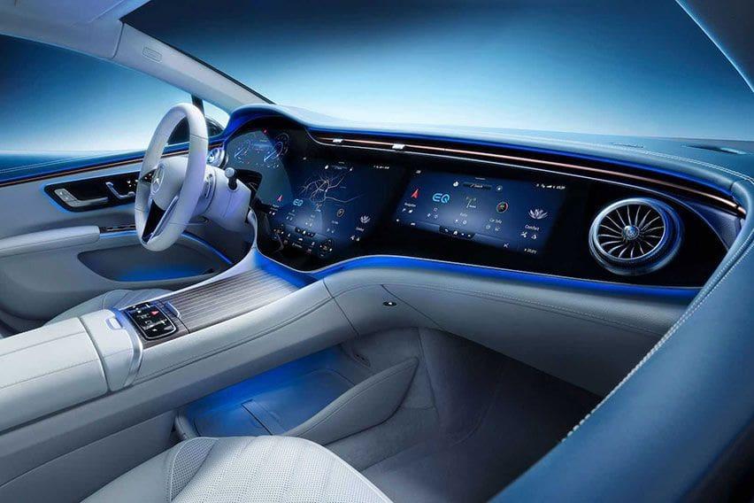 Interior Mercedes-Benz EQS Dirilis, Dirancang untuk Memikat Nyaris Seluruh Indra Manusia