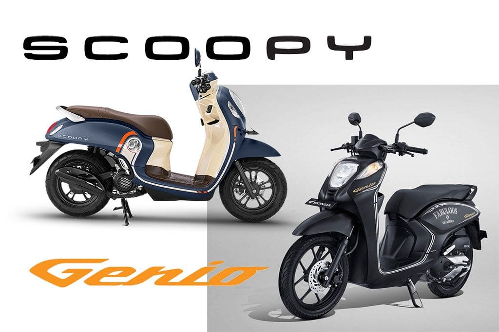 Honda Scoopy Lebih Menarik Dibandingkan Genio, Ini Alasannya