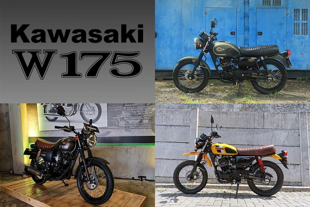Update Harga dan Warna Baru Kawasaki W175 Series April 2021