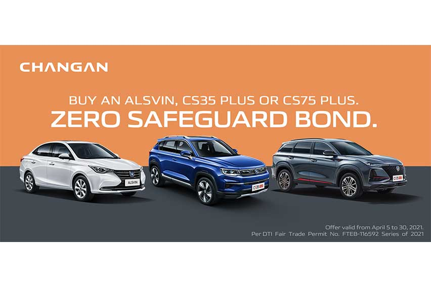 Changan serves up discounts and 'zero safeguard bond' on select models