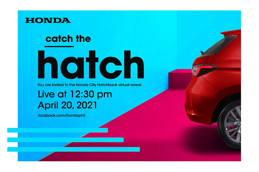 All-new Honda City Hatchback to be unveiled on Apr. 20