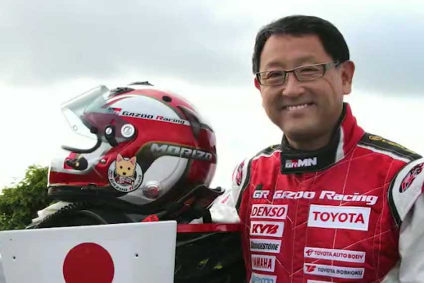 Toyota chief Akio Toyoda is World Car Person of the Year