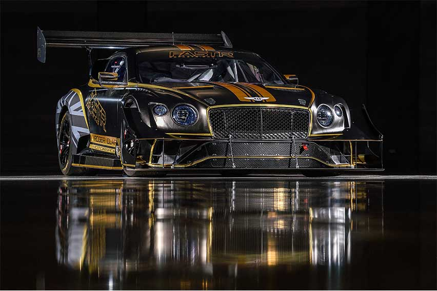 Renewable fuel-powered Bentley Continental GT3 readied for 2021 Pikes Peak
