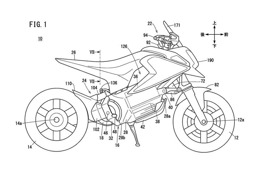 Honda Patenkan Sepeda Motor Listrik Mini, Ambil Basis Dari Grom?