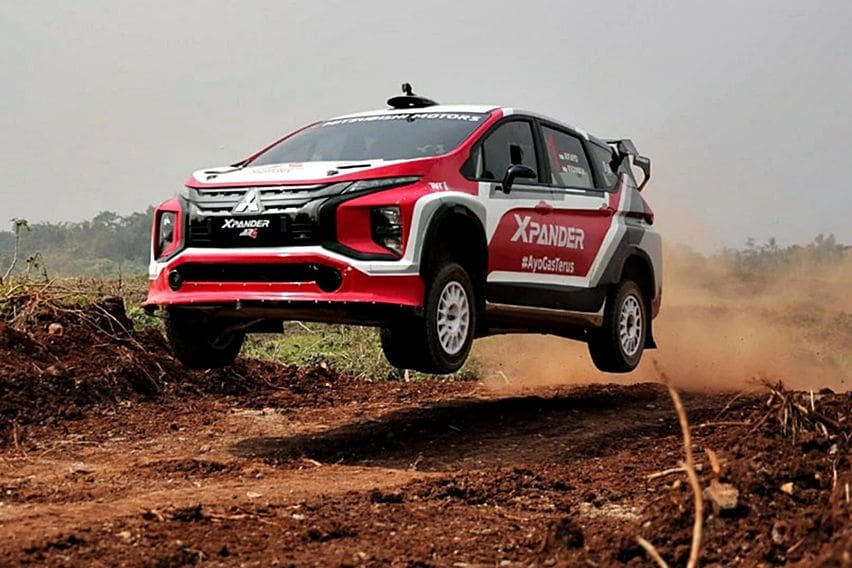 Mitsubishi Xpander AP4 Menang Balap Reli 2021, Keunggulan Basis Mobil Standar Pabrikan Jadi Sorotan