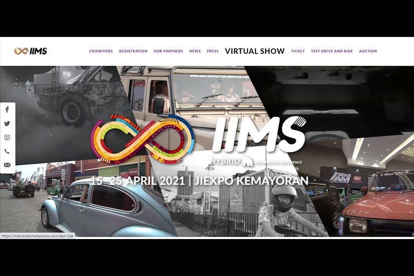 IIMS Hybrid 2021 Resmi Dibuka, Bisa Datang ke JIExpo atau Lewat Virtual