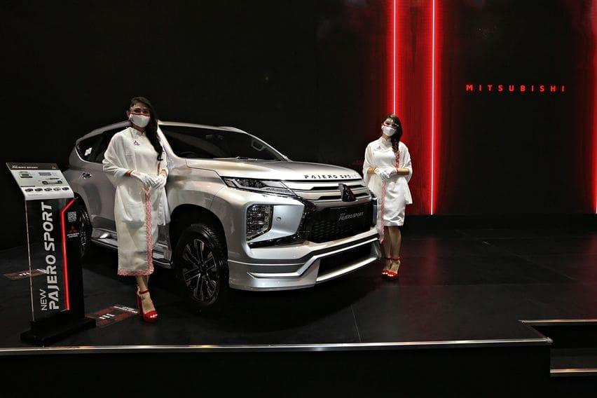 Mitsubishi Kantongi 300 SPK dan Prospek Selama 5 Hari di IIMS Hybrid 2021