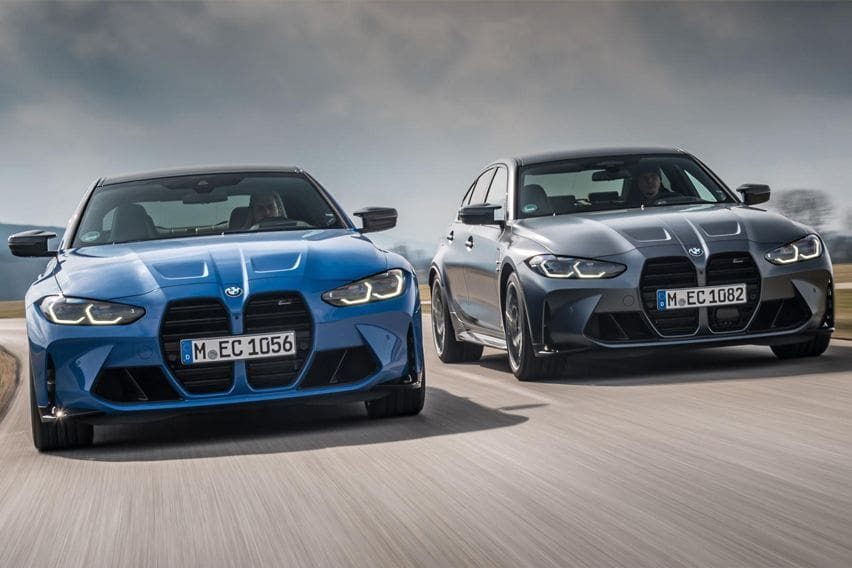 All-new 2022 BMW M3 and M4 xDrive gains AWD option