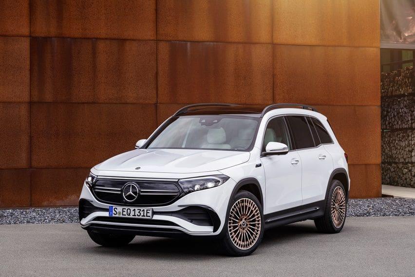 Mercedes EQB Lakoni Debut di Auto Shanghai Sebagai Versi Elektris GLB yang Disempurnakan