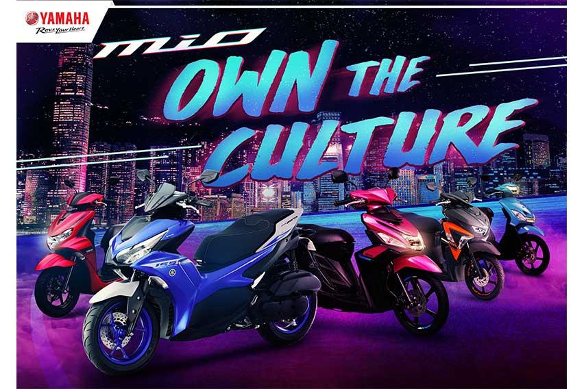 Yamaha unveils upgrades to Mio lineup