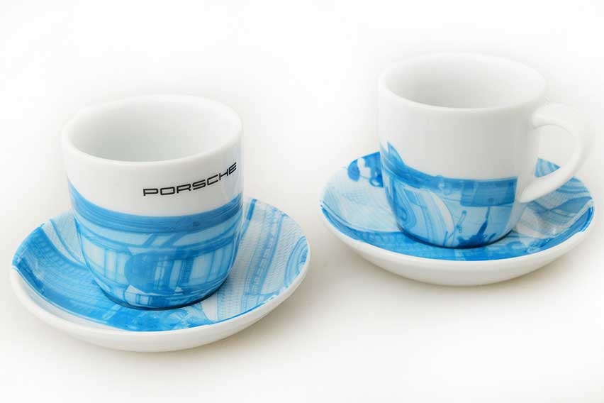 Porsche Taycan Espresso Cups