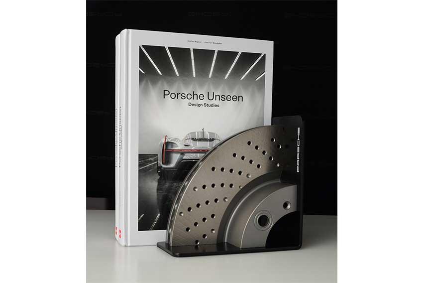Porsche Brake Disc Bookend