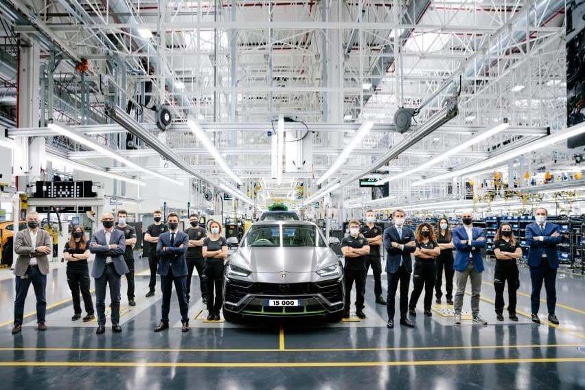 Lamborghini's new record