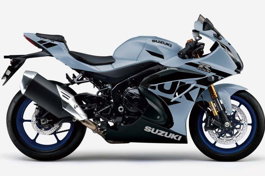 2021 Suzuki GSXR-1000R new gray colour
