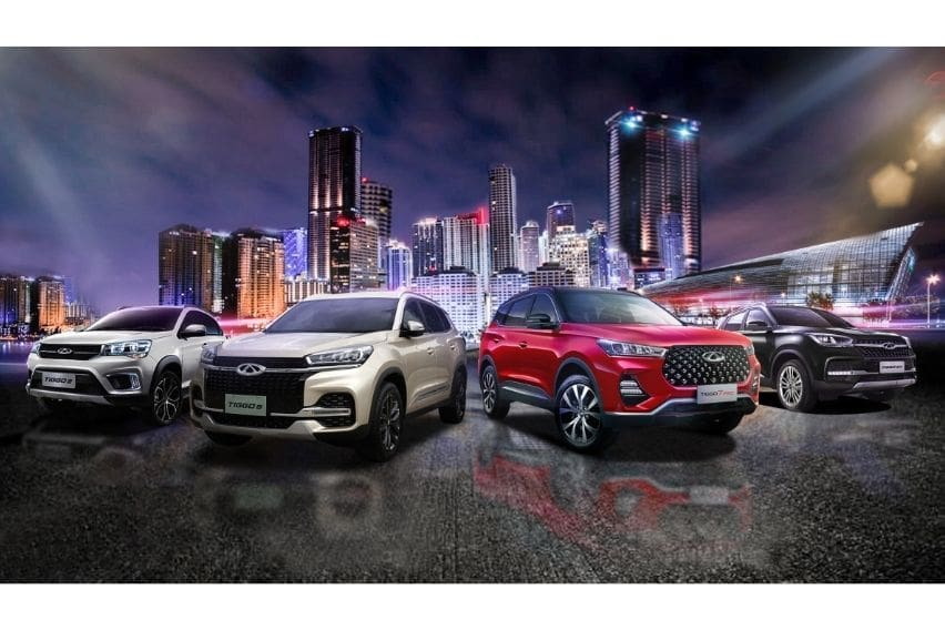 Chery Auto PH sales skyrocket by 280% in first 8 months of 2021